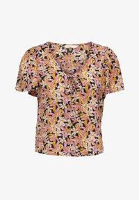 ONLY - T-shirt med print - cloud dancer - 5