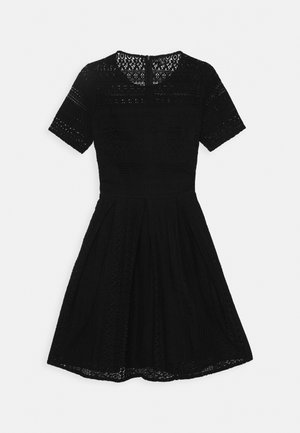 VMHONEY PLEATED DRESS - Day dress - black