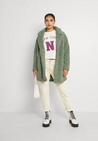 JDY - JDYLINE LIFE RAGLAN PRINT  - Sweatshirt - birch - 1