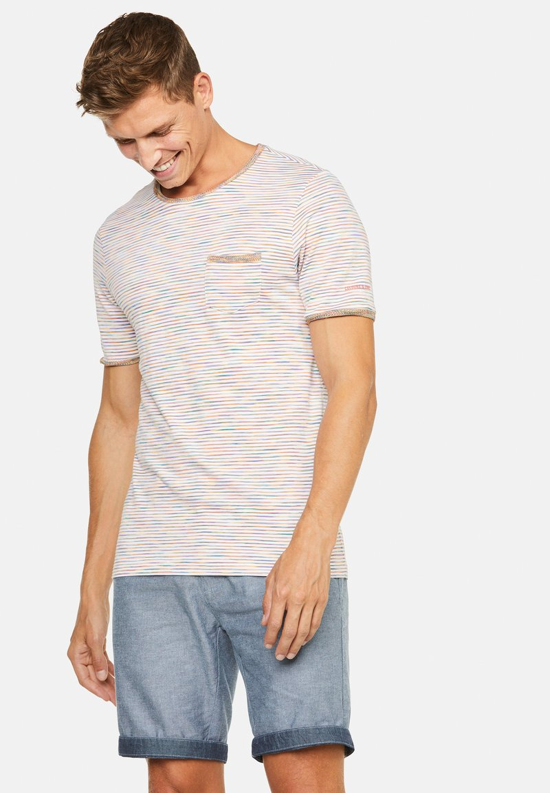 Colours & Sons - MARIO - T-Shirt print - orange