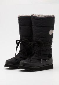 Luhta - TAHTOVA MS - Botas para la nieve - black - 1