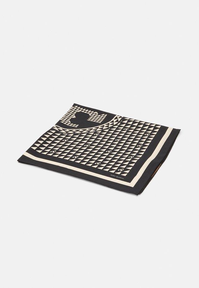 WINDMILL GEO NECKERCHIEF - Šátek - black/beige