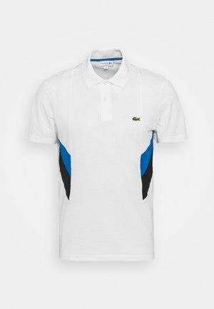 MOUNTAIN - Pikeepaita - blanc/bleu/noir