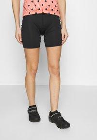 Ziener - ENTI X FUNCTION - Sports shorts - black - 0