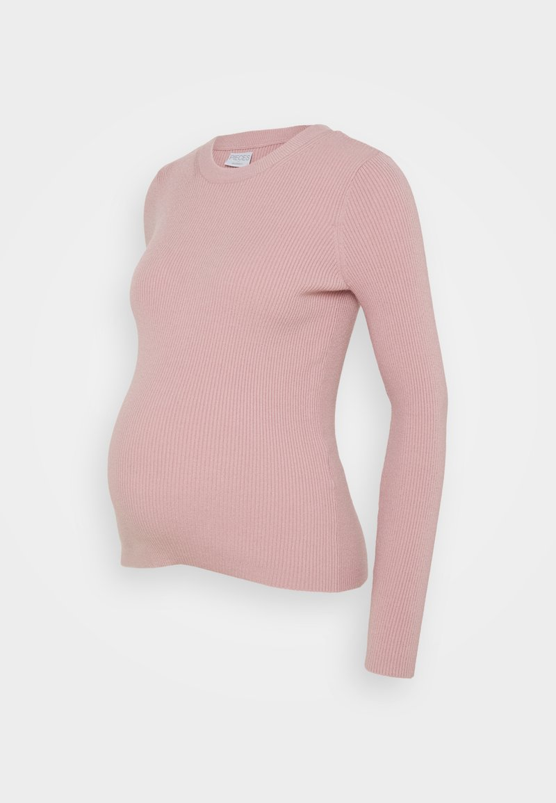 Pieces Maternity - PCMPENNY O NECK - Jumper - zephyr