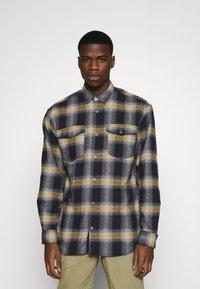 Jack & Jones - JCOOTTOWA WORKER - Shirt - navy blazer - 0