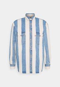 Levi's® - BARSTOW WESTERN UNISEX - Shirt - blue denim/white - 3
