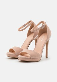 Even&Odd - LEATHER - High heeled sandals - beige - 2