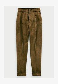 Scotch & Soda - HIGH-RISE - Trousers - military green - 4