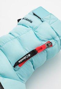 Columbia - PANINAROOMNI HEATPULL ON - Zimní obuv - aquatint/poppy red - 5