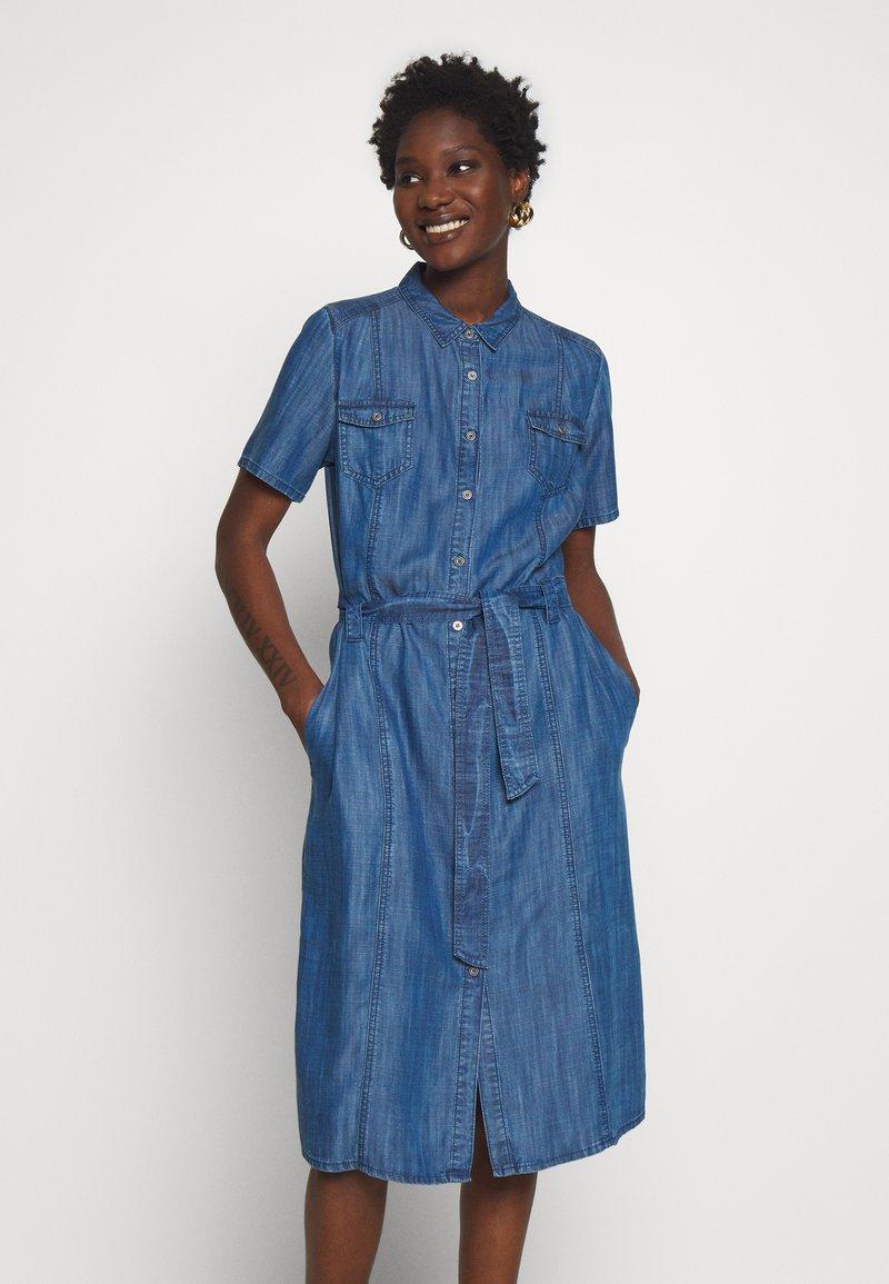 Barbara Lebek - Denim dress - denim blue