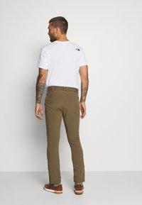 Jack Wolfskin - ZENON PANTS MEN - Pantalones montañeros largos - granite - 2