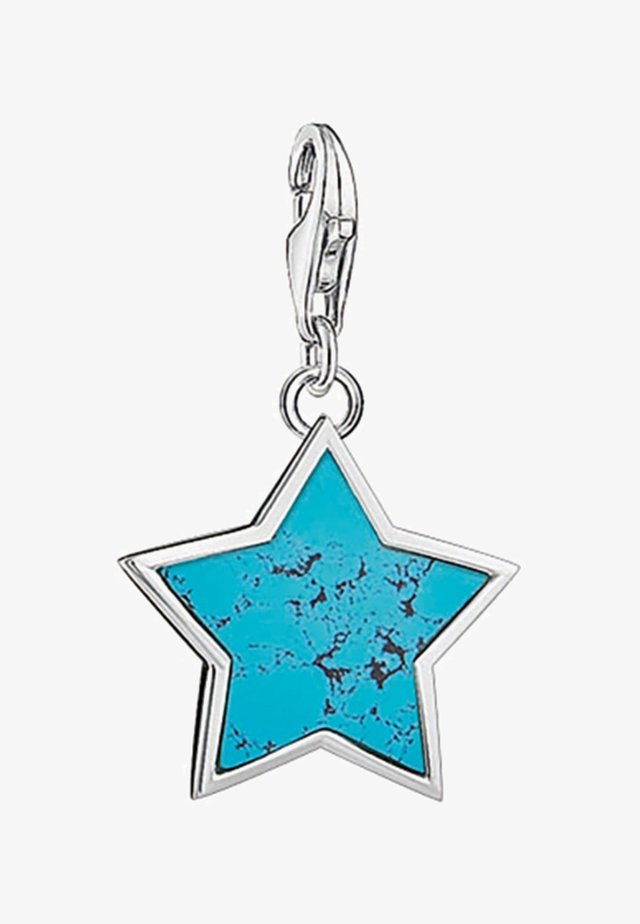 Stern - Pendentif - silver/turquoise
