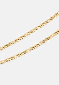 Nialaya - FIGARO CHAIN NECKLACE - Naszyjnik - gold-coloured - 2