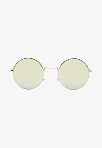 UA GUNDRY SHADES - Sunglasses - gold/dark green
