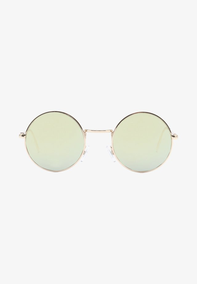 UA GUNDRY SHADES - Occhiali da sole - gold/dark green