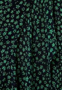 Bershka - MIT PRINT  - A-line skirt - black - 5