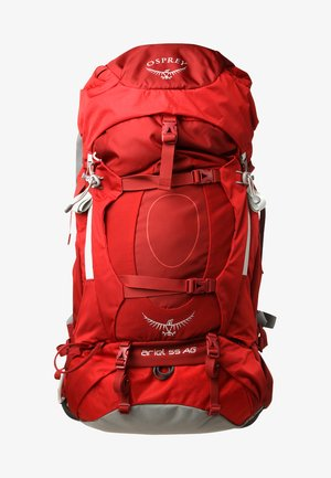 ARIEL 55 - Hiking rucksack - picante red