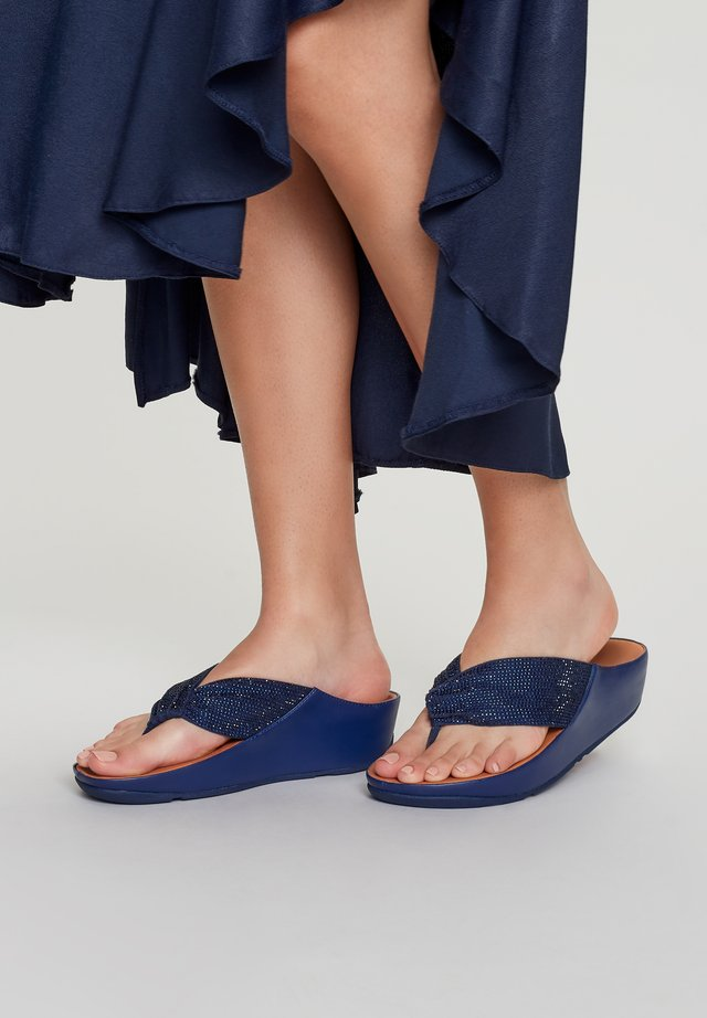 T-bar sandals - midnight navy