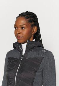CMP - WOMAN JACKET FIX HOOD - Outdoor jacket - nero - 3