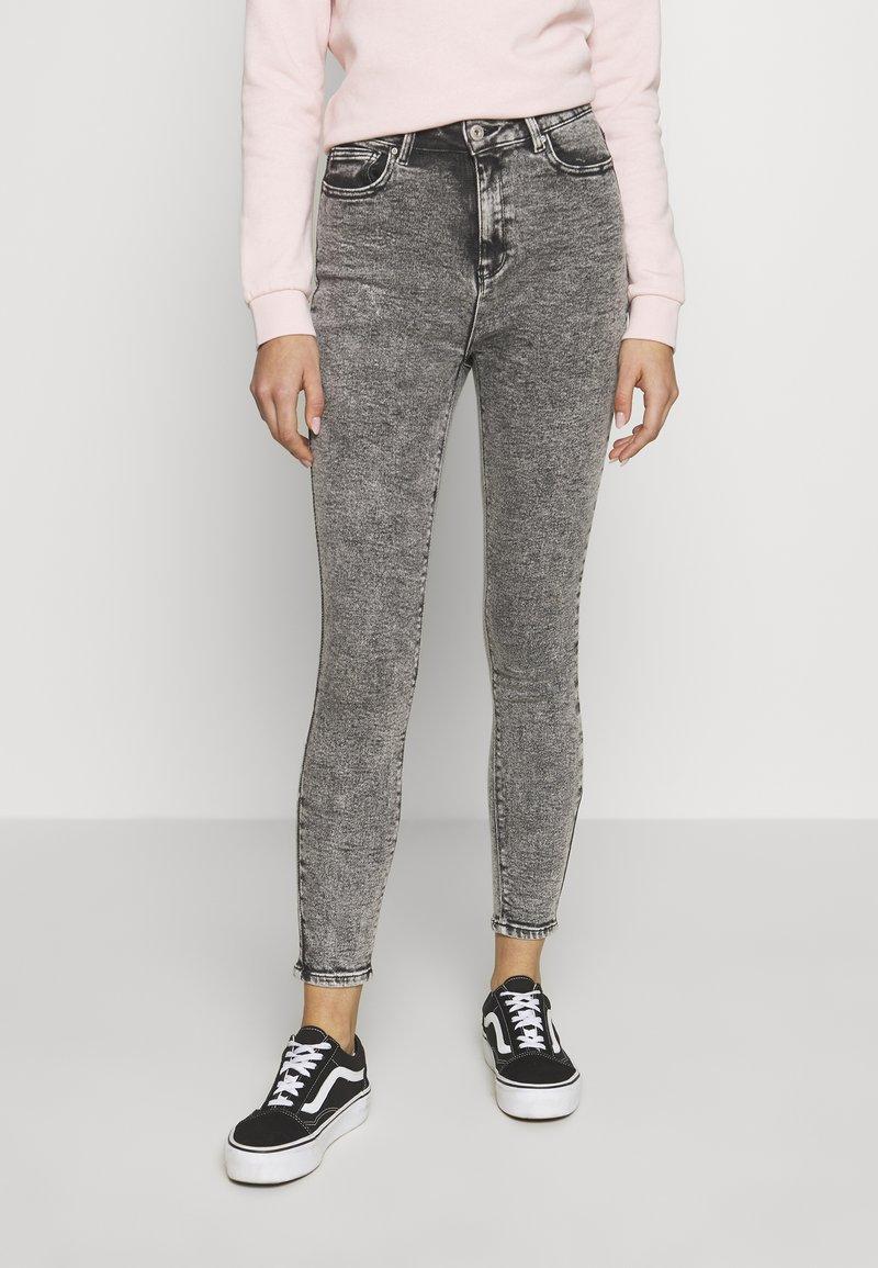 ONLY - ONLMILA ACID - Jeans Skinny Fit - grey denim
