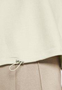 NA-KD - CROPPED DRAWSTRING - Sweatshirt - beige - 5