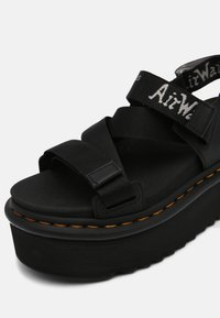Dr. Martens - KIMBER - Platform sandals - black hydro/white/light grey - 7