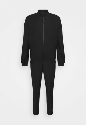 LIGHTWEIGHT & DRAWCORD TROUSERS - Trousers - black