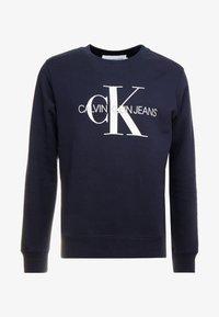 Calvin Klein Jeans - ICONIC MONOGRAM CREWNECK - Sweatshirt - night sky - 4