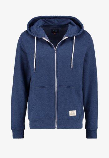 REGULAR FIT - Zip-up sweatshirt - ensign blue