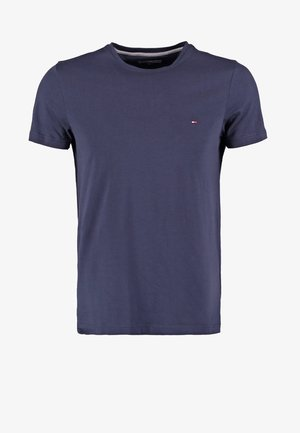 NEW STRETCH TEE C-NECK - Basic T-shirt - navy blazer