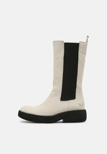 EXTRA - Platform boots - pacifico off white