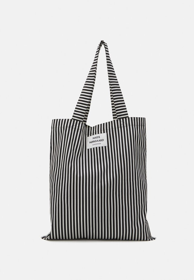 SACKY ATOMA - Shopper - black/off white