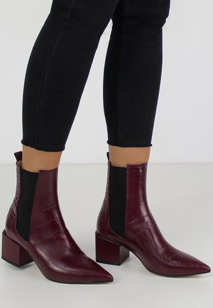 DARIANA - Classic ankle boots - bordeaux