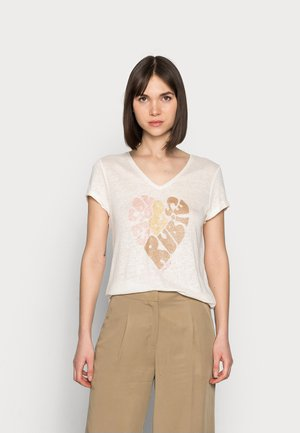 RUBIES TEE - Print T-shirt - peachskin