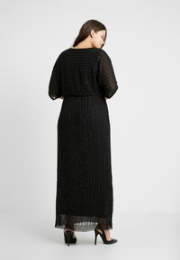 Lace & Beads Curvy - MAXI - Occasion wear - black - 2