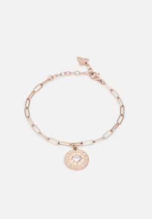 WITH LOVE - Armband - rose gold-coloured