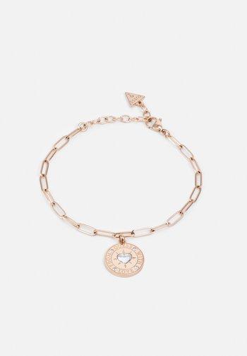 WITH LOVE - Bracelet - rose gold-coloured