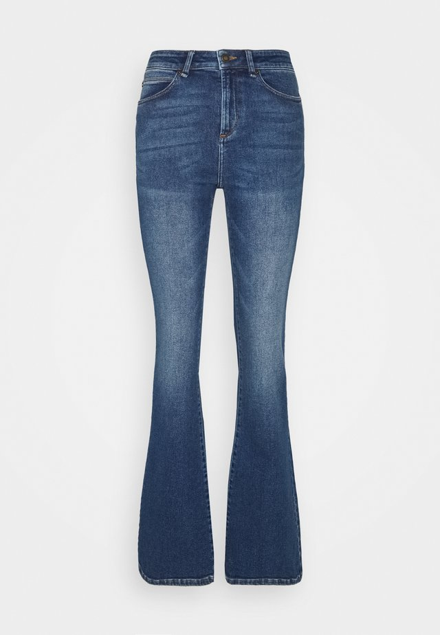 TARA MACAU - Flared jeans - denim blue