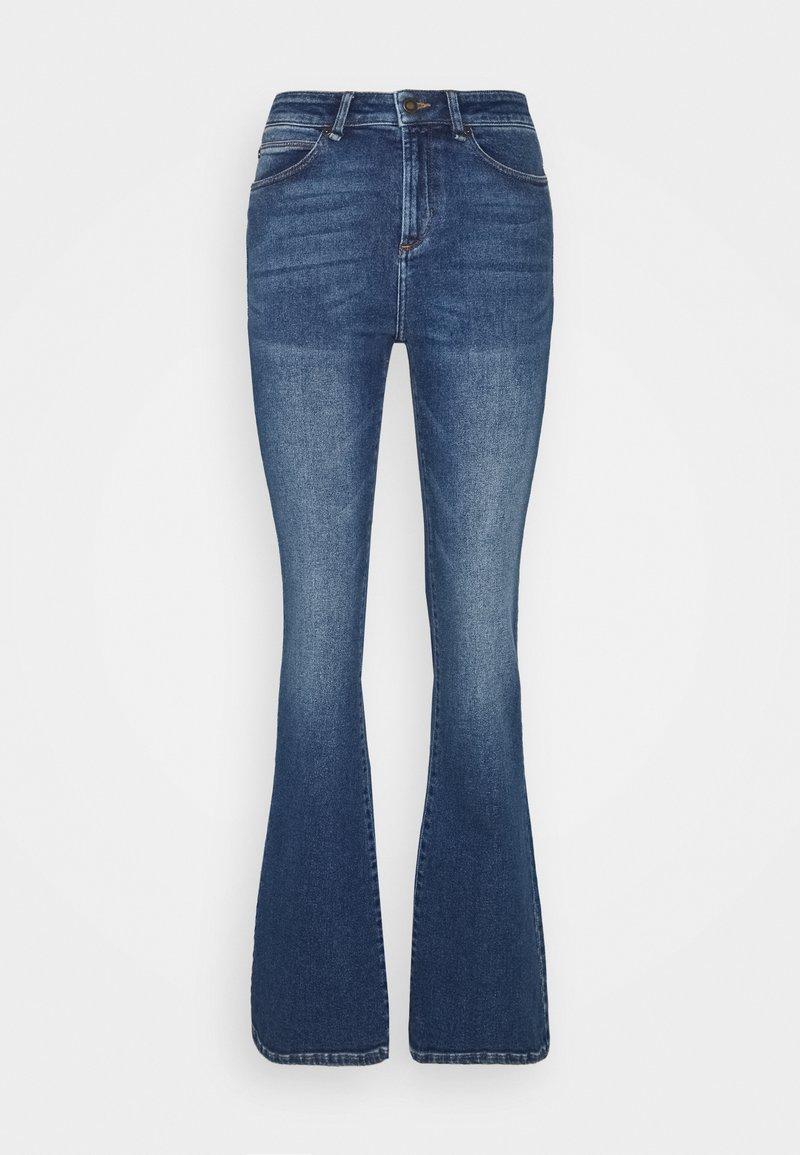 Ivy Copenhagen - TARA MACAU - Flared Jeans - denim blue
