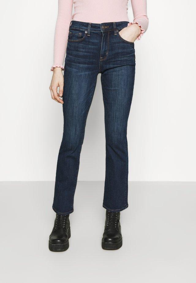 SKINNY KICK - Jeans a zampa - deep sea blue