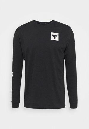 ROCK BRAHMA BULL - T-shirt à manches longues - black