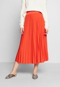 Anna Field Tall - A-Linien-Rock - orange - 0