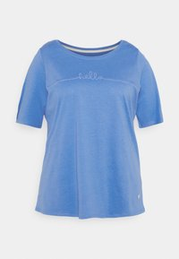MY TRUE ME TOM TAILOR - WITH SLEEVE DETAIL - Print T-shirt - marina bay blue - 3