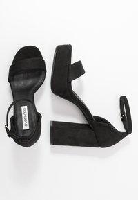 Even&Odd - Sandali con tacco - black - 3