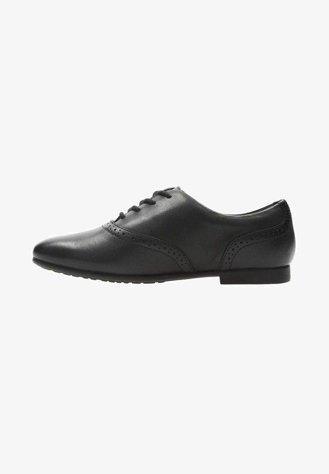 JULES WALK - Veterschoenen - black leather