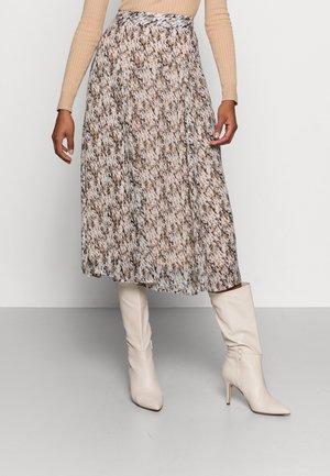 KARIT - Áčková sukně - flint/neutral