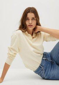 Mango - DANA-I - Polo shirt - ecru - 5