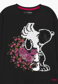 Desigual - SNOOPY - Jersey dress - black - 2