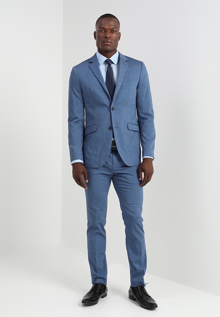 Pier One - Suit - mottled blue